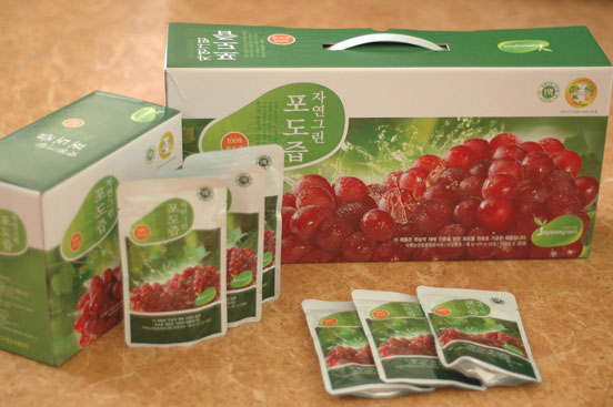 Jayeongreen (Nature Green) Grape Juice